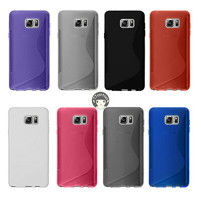 Soft S-Line Gel TPU Silicone Case Skin Cover For Samsung Galaxy Note5 SM-N920