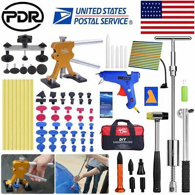 Paintless Dent Repair PDR Hail Lifter Slide Hammer Puller Auto Body Removal Tool