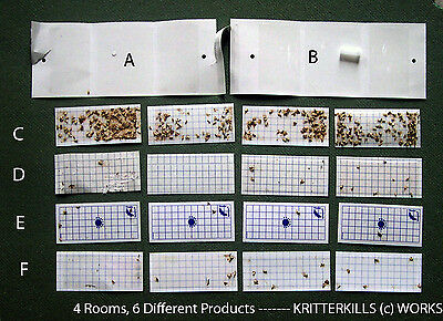 KRITTERKILL CLOTHES MOTH TRAP-PHEROMONE REFILLS x 10 - OVER 300,000 SOLD