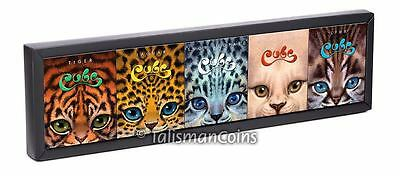 Tuvalu 2016 The Cubs - Big Cats Display Box for Five Coin Series (No Coins)