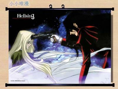 Japan Anime Hellsing Victoria Alucard Home Decor Poster Wall Scroll 60*40cm 196