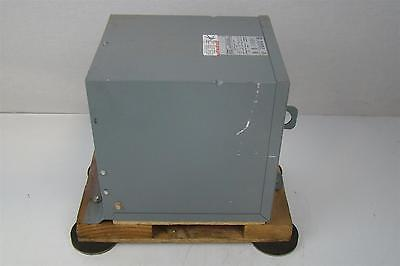 SQUARE D 5 kva Transformer 240/480 x 240/120v TYPE 3R ENCLOSURE  PHASE 1