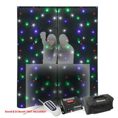 RGBW 96 LED Lights Backdrop Star Cloth 3x2m DMX Remote Control Wedding DJ