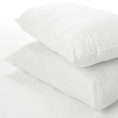 Firm Bounce-Back Pillows Extra Filled 100% Hollowfibre Fillings 2,4 or 6 Pack