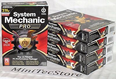 iolo System Mechanic Professional 1Year Unlimited Household PCs  Retail Box