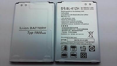 Lot Of 2 New Battery For Lg Ls665 L50 Leon Lte Risio H345 H340 F Y L33L Bl-41Zh