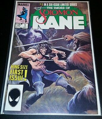 Solomon Kane #1 (Sep 1985, Marvel). VF - NM.