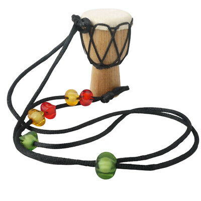 MINI Djembe Traditional African Wooden Hand Drum Percussion Drum Gift for Kids