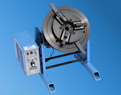 50KG Duty Welding Positioner Turntable Timing with 20cm Chuck 220V Free shipping