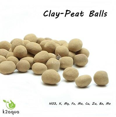 Clay Peat Balls Macro and Micro Elements Aquarium Plant Fertilizer Root Nutrient