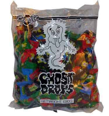 240 x Ghost Drops Cosmic Kids Lollies Candy Bulk Sweets Party Favor Wrapped