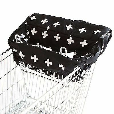 Bambella Designs Trolley Cover Liner - Universal Fit - BLACK CROSS