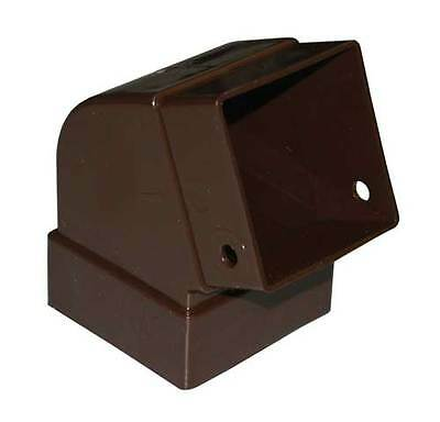 GSW Euramax T1525 BROWN CONTEMPORARY ELBOW GUTTER DOWNSPOUT TUFFLO AMERIMAX