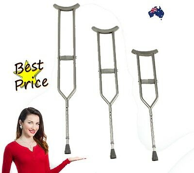 Invacare Bariatric Underarm Crutches - Pair RRP $69 3 sizes Run out stock
