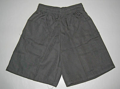 NEW school uniform shorts pants Grey size 5 to 16