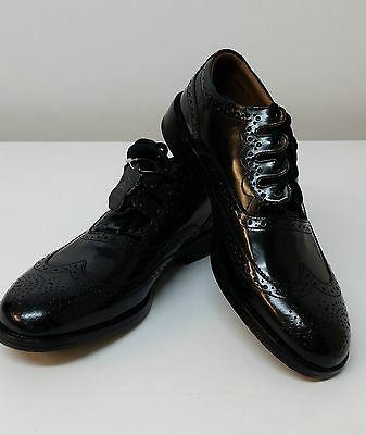 1/2 price Black Clyde Ghillie Brogues Leather upper & Sole all sizes1/2 sizes