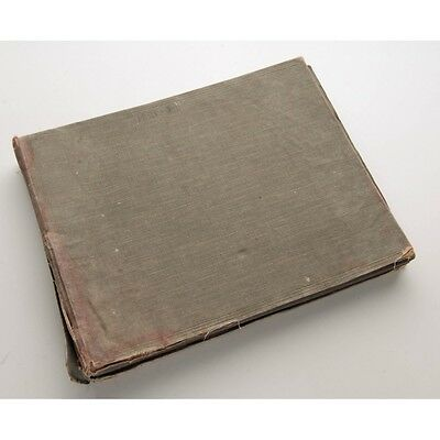 Antique Photo Album Containing Approximately 159 Photographs Dated Between 1921