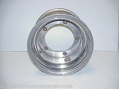 "Real 12"" Wide Aluminum Wide 5 NON-Beadlock Wheel 5"" Offset Late Model JR-07"