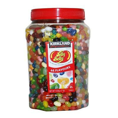 Kirkland Jelly Belly Gourmet Jelly Beans 1.8kg 44 Delicious Flavours,
