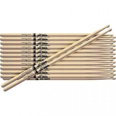 Pro-Mark 12-Pair American Hickory Drumsticks Nylon 5B. Free Delivery