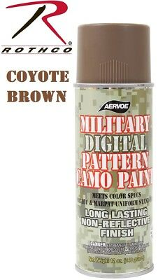 Coyote Brown Camouflage 12 Oz. Aerosol Can Spray Paint Can Rothco 8343