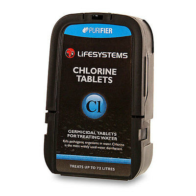 Lifesystems Chlorine Pocket Tablets