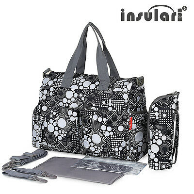Multifunctional Baby Diaper Bag Mommy Mummy Changing Bag Waterproof Nappy Bag