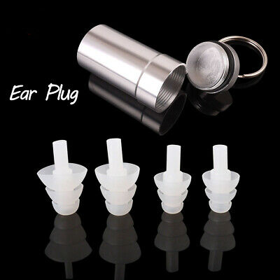 HearSafe Ear Plugs Hearing Protection Noise Attenuation Earplugs for Musicians