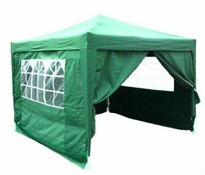 Quictent 10 x 10' Easy Pop Up Party Tent Canopy Marquee Gazebo Foldable Green