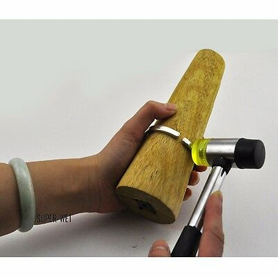 1 X Bracelet Bangle Finger Ring Making Shaping Tool Mandrel Jeweler Hammer New