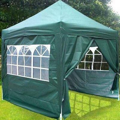 Quictent 8 x 8' Pyramid Easy Pop Up Party Wedding Tent Canopy Gazebo Green