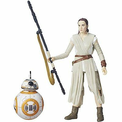 STAR WARS The Force Awakens BLACK Series 6 Inch Figure REY & BB-8 TAKARA TOMY.