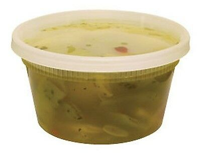 12oz. DELI CONTAINERS W/ LIDS NEWSPRING YL2512 240/CASE