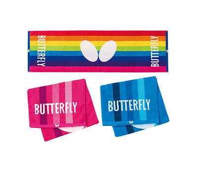 Butterfly Table Tennis Nestea Towel Sports Towel Ping Pong  Rainbow/Rose/Blue