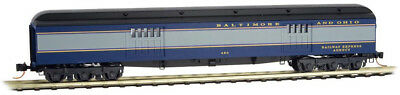 Micro-Trains MTL N-Scale 70ft. Heavyweight Baggage Car Baltimore & Ohio/B&O #490