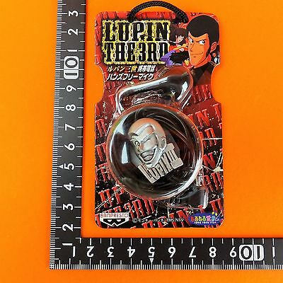 UT Banpresto Lupin The 3rd Hands-free microphone Lupin Silver ver. Japan anime