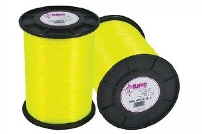 Ande Monster Yellow Monofilament 80 Lb. test 1lb. Spool Appr. 600 yrds. +/-