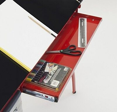 Studio Designs Art Craft Station Desk Drawing Table, Red