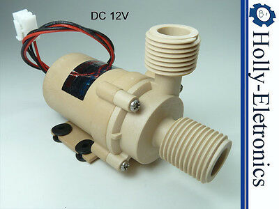 DC 12V high temperature Brushless Water Pump 480LPH/126GPH, 105C/221F