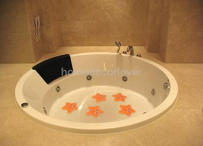 5x Starfish Bathtub Stickers Safety Decals Anti-Slip Anti-Skid Bathroom
