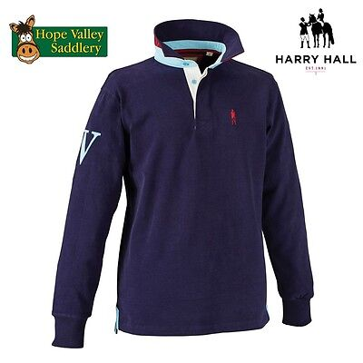 SALE Harry Hall Sherborne Mens Rugby Shirt.