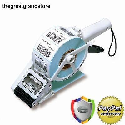 Label Applicator Hand Held Bar Code Labeling Shipping Tagging Office Labeler