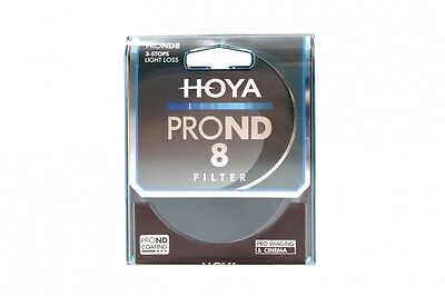 HOYA Pro ND8 Filter 49, 52, 55, 58, 62, 67, 72, 77, 82mm  3 stops ND 8
