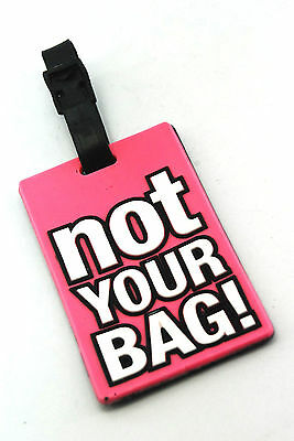 "Baggage Luggage Tag Claim ""NOT YOUR BAG"" ACM02"