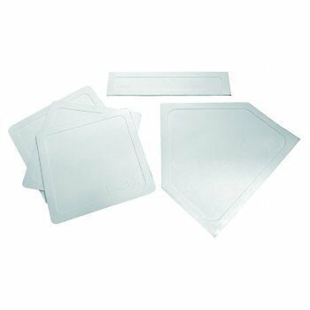 Bronx Fastball High Quality Lightweight Indoor/Outdoor Rubber Throw-Down Bases