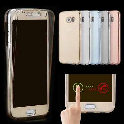Ultra Thin 360° Full Body Protective Crystal Clear Soft TPU Silicone Case Cover