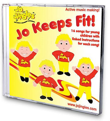 NEW! JO KEEPS FIT SINGALONG CD Songs Rhymes School Kids Nursery Music Jingles