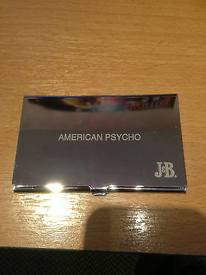 American Psycho    Promo  Business Card Holder & Mirror   New!