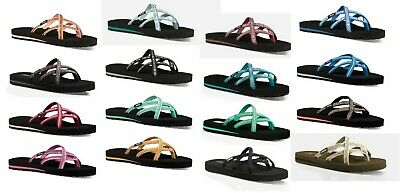 Teva Olowahu #6840 Women's Thong Flip Flops Sandals Sizes 6 7 8 9 10 11