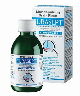 Curasept ADS 212 0.12% Chlorhexidine Mouth Rinse 200ml Dental Curaprox